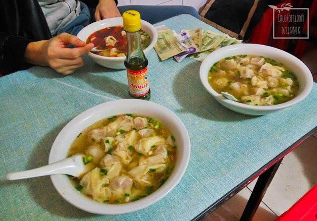 Zupa, wonton huntun z olejkiem z pieprzu górskiego smak Werbena egzotyczna, górska (Litsea cubeba) pieprz górski, zastosowanie i użytkowanie, jak wygląda i smakuje, gdzie rośnie, kwiaty, opis, uprawa, smak