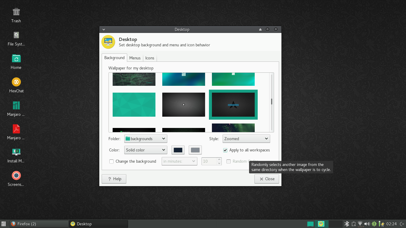 Manjaro 16 10 Fringilla is now released with many
