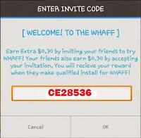 Cara Mudah Mendapatkan Uang/Dollar dari Whaff Rewards