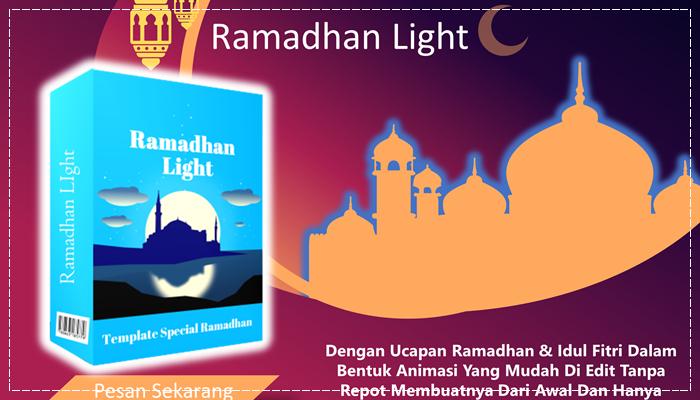 Template POWERPOINT Lisensi PLR Tema Ramadhan Dan Idul fitri Ramadhan