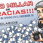 Sorteo 500 seguidores en Facebook