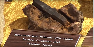 The hammer found in stone.