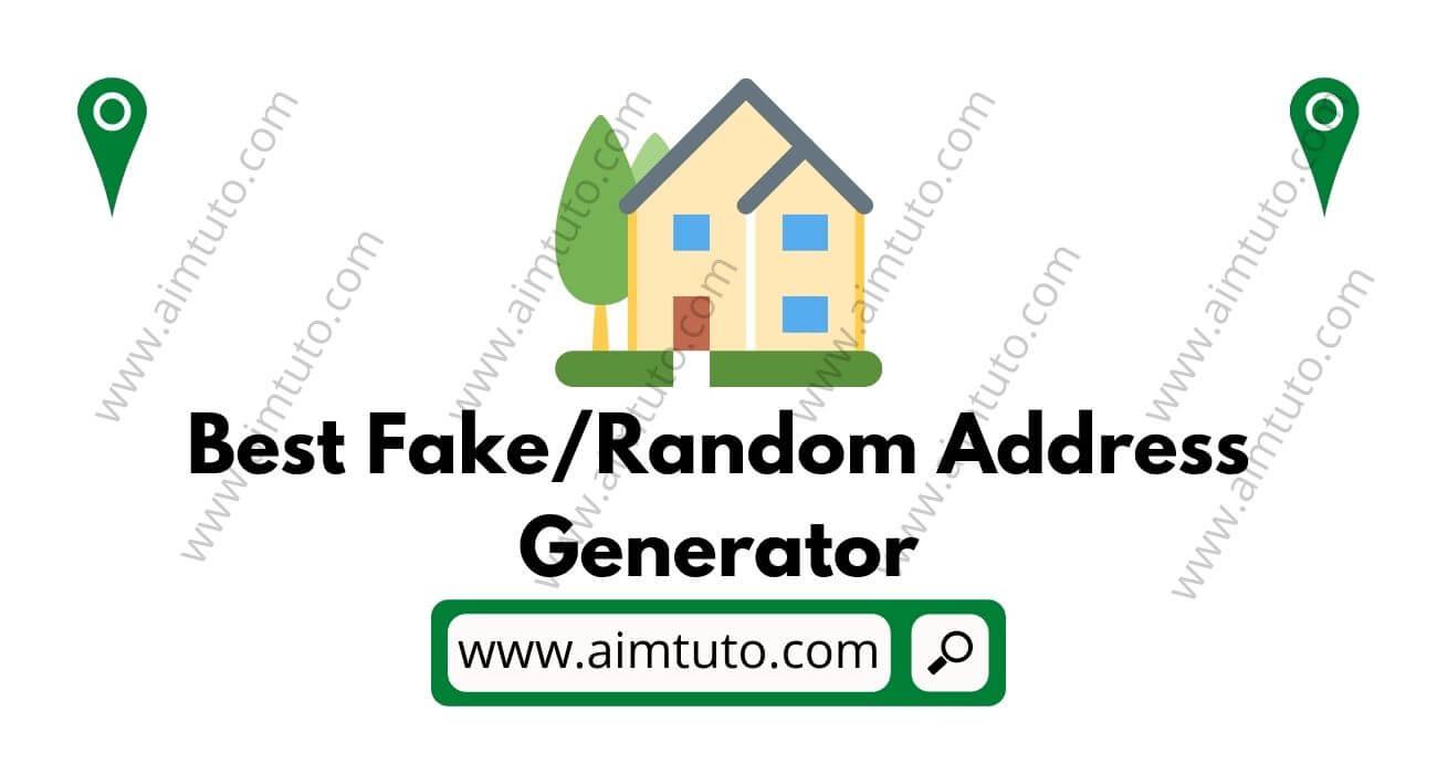 best fake name and address generator us/uk/canada