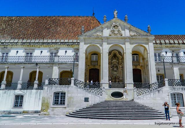 Paço das Escolas, Universidade de Coimbra, Portugal