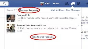 Find Hidden Messages On Facebook