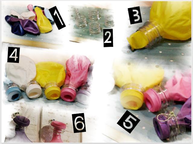 floreros, colgar, globos, diys, manualidades, proyectos, decoración