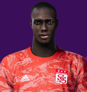 PES 2021 Faces Mamadou Samassa by Korneev