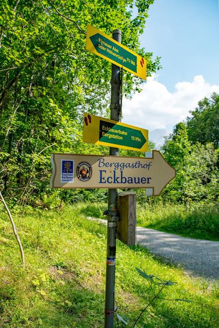 Wamberg, Eckbauer und Graseck  Wandern in Garmisch-Partenkirchen  Eiserne Brücke über der Partnachklamm  Start am Olympia Skistadion 12