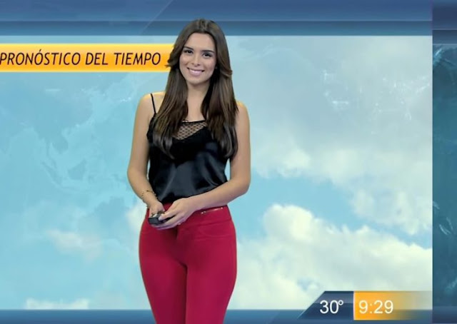 Lluvia Carrillo, la nueva Chica de la Semana del clima