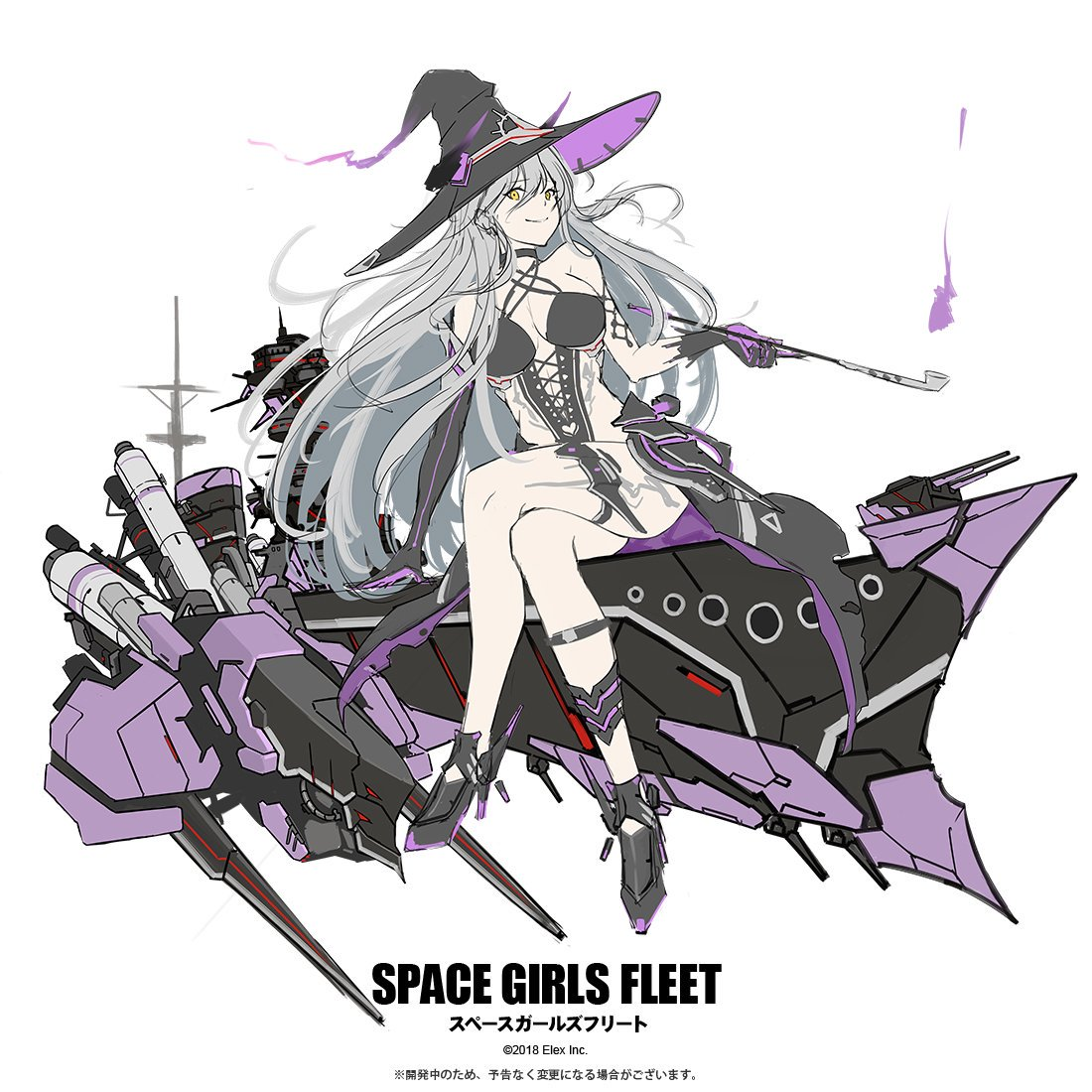 Space Girls Fleet art