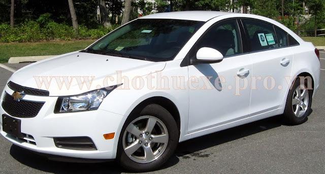 Cho thuê xe 4 chỗ Chevrolet Cruze dài hạn theo tháng