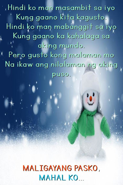 Tagalog Love Quotes for Boyfriend