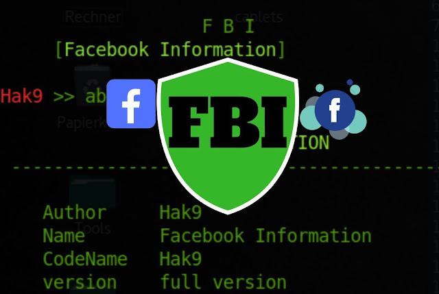 FBI - Facebook Information Gathering Tool [ Phone Numbers, E-mails && ALL ]