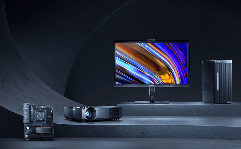 ASUS announces new ProArt displays, desktop PC, mouse, mousepad, and projector