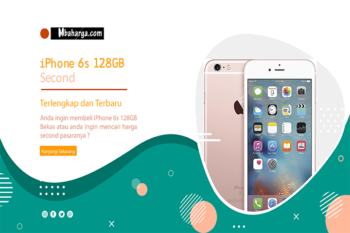 iPhone 6s 128GB Second