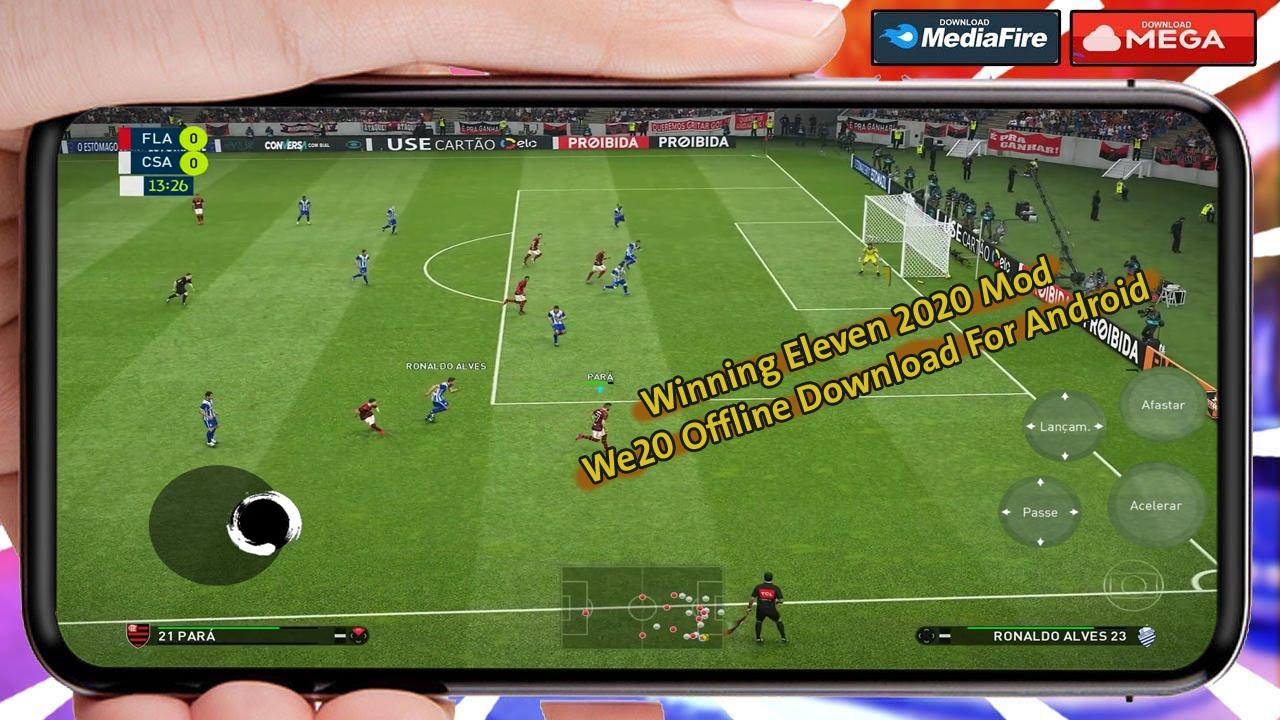 Winning eleven 2020 mod we20 offline download for android