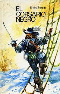 Portada del libro el corsario negro para descargar en pdf gratis