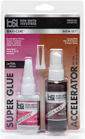 Super Glue Maxi-Cure - Accelerator Insta-Set - BSI Adhesives - Versatile Strong Adhesive