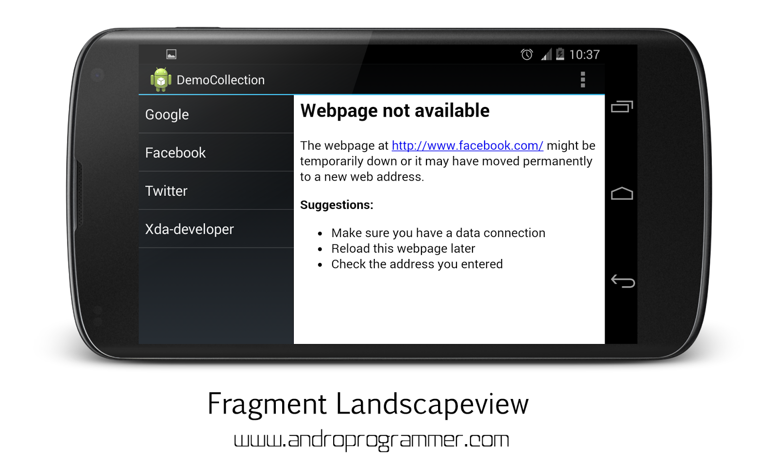 Fragments in android