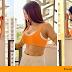 Saanvi Dhiman's provocative looks in Orange sets Internet on Fire.
