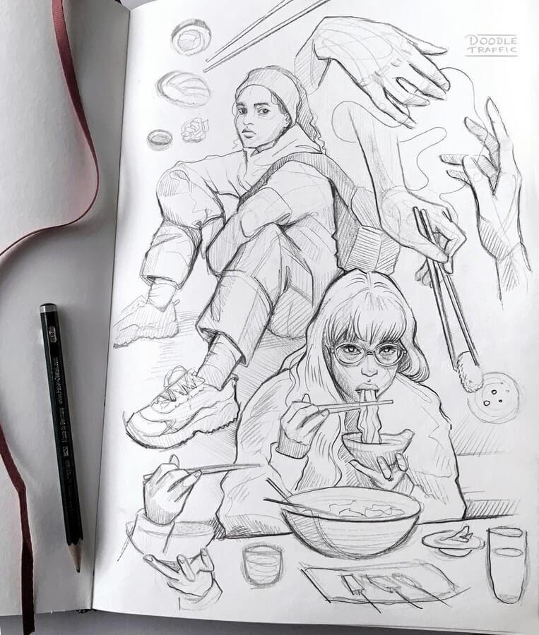 02-Food-art-Gaby-Niko-www-designstack-co
