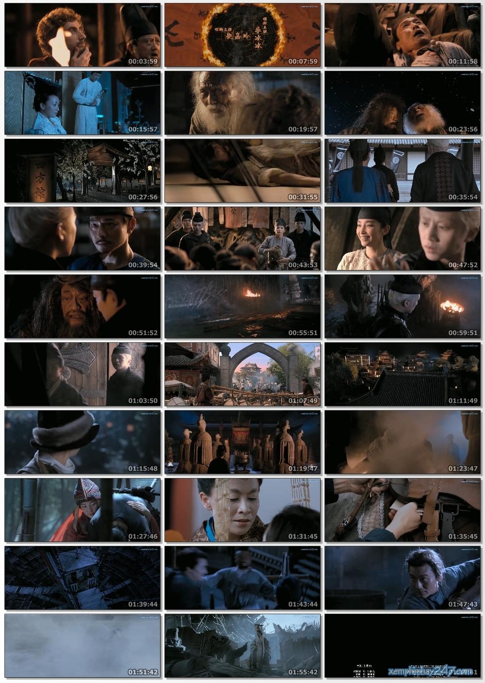 http://xemphimhay247.com - Xem phim hay 247 - Địch Nhân Kiệt: Bí Ẩn Ngọn Lửa Ma (2010) - Detective Dee And The Mystery Of The Phantom Flame (2010)