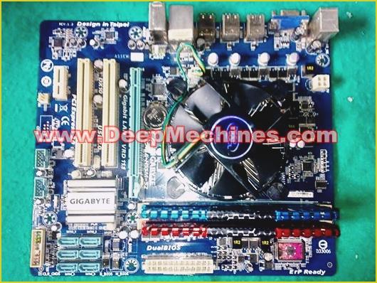 Build System PC Desktop dengan Motherboard GIGABYTE GA-H55M-SA