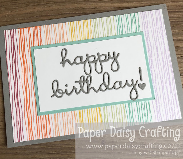 Lilypad Lake Well Written Stampin Up Paper Daisy Craftin