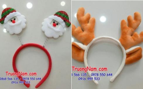 Cho thuê và may mascot - may nón noel Noel3