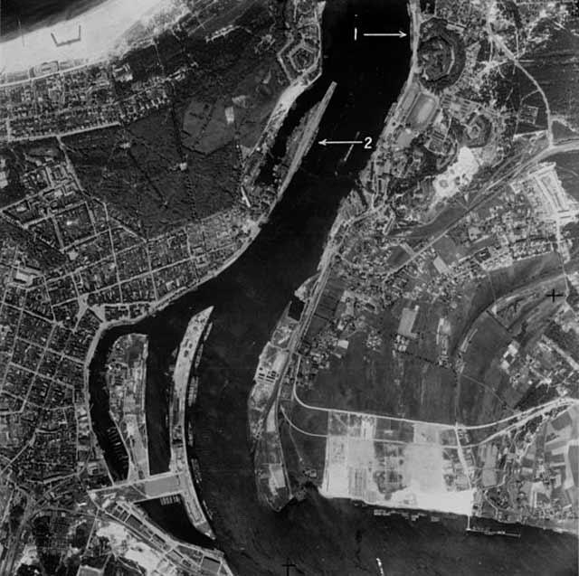 RAF aerial reconnaissance of Swinemunde, 6 April 1942 worldwartwo.filminspector.com