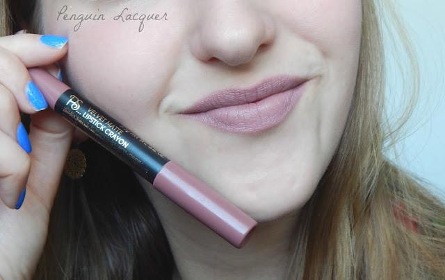 ps love velvet matte lipstick crayon mushroom mit stift