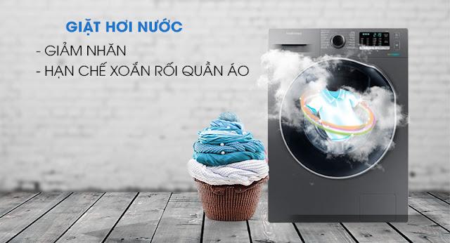 Máy giặt sấy Samsung WD95K5410OX/SV
