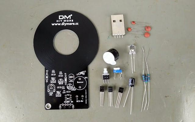 Kit de detector de metais