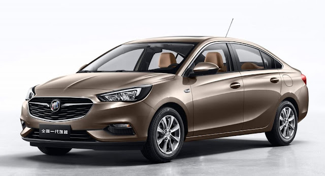 Buick, Buick Excelle, China, New Cars