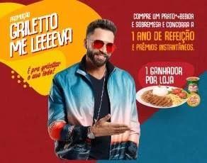 Cadastrar Promoção Me Leva Griletto 2020 - Raspadinha