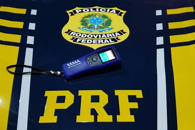 PRF prende homem por embriaguez ao volante em Mossoró, RN