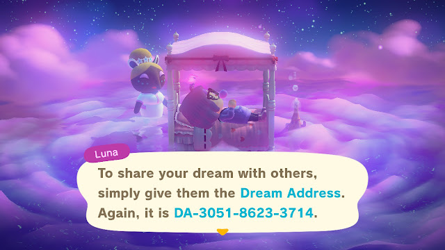 Animal Crossing Dream Suite