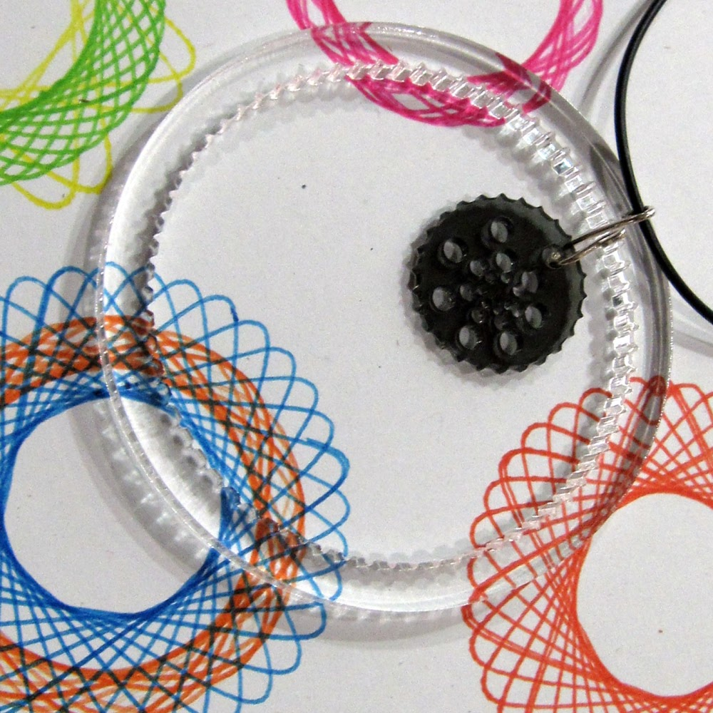 Varietats: Spirosketch Necklace By Polymath's Lab