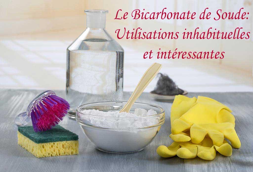 Le Bicarbonate de Soude: 10 Utilisations inhabituelles et intéressantes