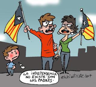 independencia, no existe, son los padres
