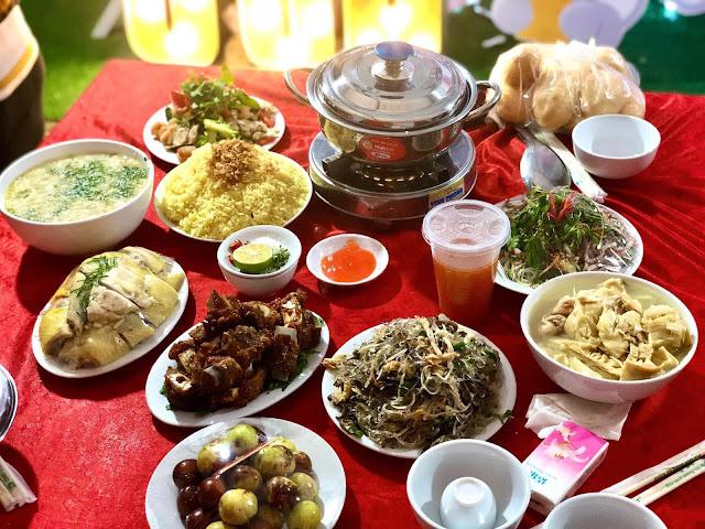 Dịch vụ nấu cỗ tại Nguyễn Văn Huyên- Tây Hồ