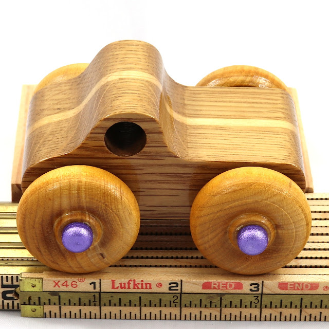 Handmade Wood Toy Monster Truck Based on the Pickup Truck in the Play Pal Series