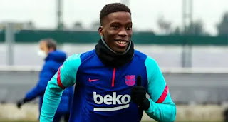 Barcelona set to  promote Moriba officially to the first team in 2021/22