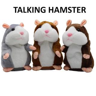 Talking Hamster Toy Kids Doll Mainan Anak Boneka Bisa Bicara Talk Doll