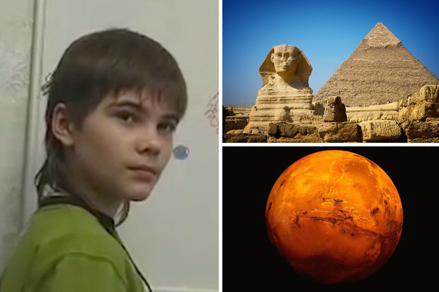 Cậu bé thần bí tự xưng đến từ sao Hỏa: Nếu mở khóa tượng Nhân sư Ai Cập, sự sống toàn nhân loại sẽ thay đổi