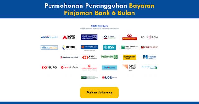 penangguhan bayaran pinjaman bank 6 bulan