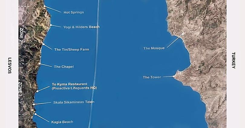 Λέσβος-ΜΚΟ-Μοιράζει-Ειδικό-Χάρτη-για-Διευκόλυνση-Παραβίασης-των-Συνόρων