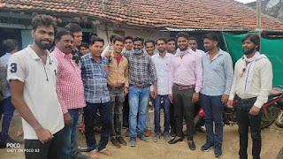 धनोरा में युवा कांग्रेस की बैठक संपन्न