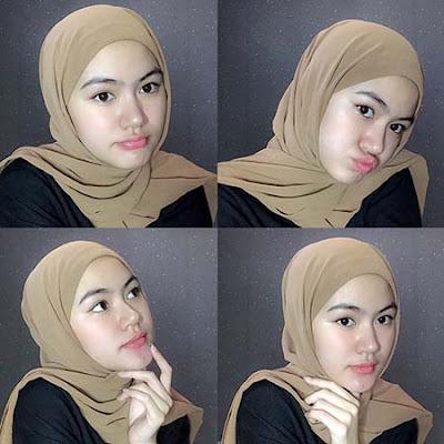 Rientammya Osava Pakai Hijab