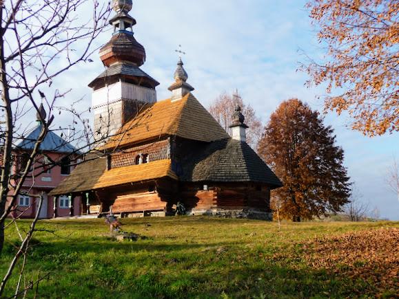 Подорожі містамі та селами України. Свалява, Бистрий. Свято-Михайлівська дерев'яна церква